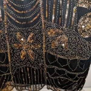 Pretty Guide Dresses - Sequined flapper dress